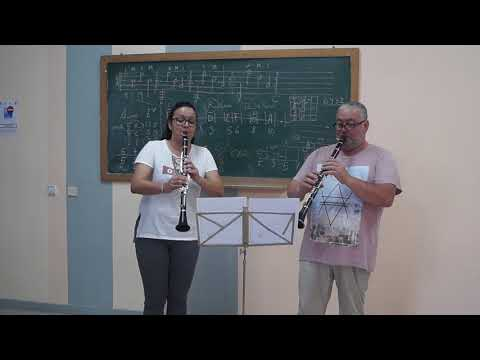 Go Down Moses Clarinet Duet Cover