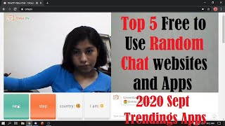 Top 5 Random Video Chat Apps and Websites 2020 | FREE to use Random Chat Apps screenshot 3
