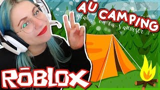 CAMPING WITH A SUBSCRIBER! Roblox Camping