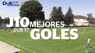 Mejores Goles | Sub17 | Jornada 10 | Guard1anes 2021 | Liga BBVA MX