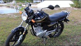 2015 Yamaha YBR125 Review and Startup