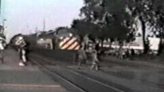 kid hit by train
