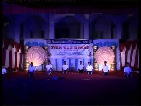 Yoga Dance Prem Maharishi Center For Educational Excellence 2014