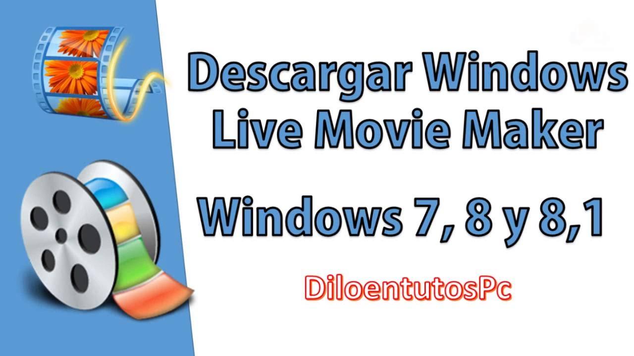 descargar gratis windows live movie maker portable