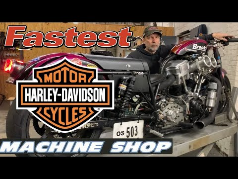 SPEED SECRETS AND INSIDE LOOK AT WORLD's FASTEST HARLEY DAVIDSON STREET BIKE AND DRAG RACING SHOP!