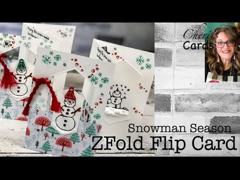 super-easy-fun-fold:-z-fold-flip-window-card-snowman-season-stampin'-up!