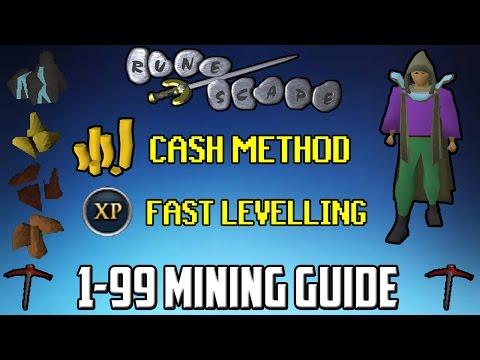 Old School RuneScape In-depth 1-99 Mining Guide - P2P/F2P