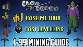 Oldschool RuneScape In-depth 1-99 Mining Guide - P2P/F2P