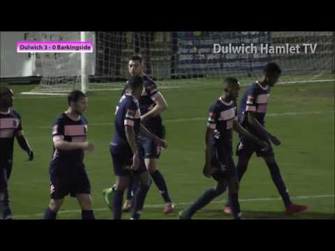 Dulwich Hamlet 7-1 Barkingside, London Senior Cup Second Round, 21/02/17 | Match Highlights