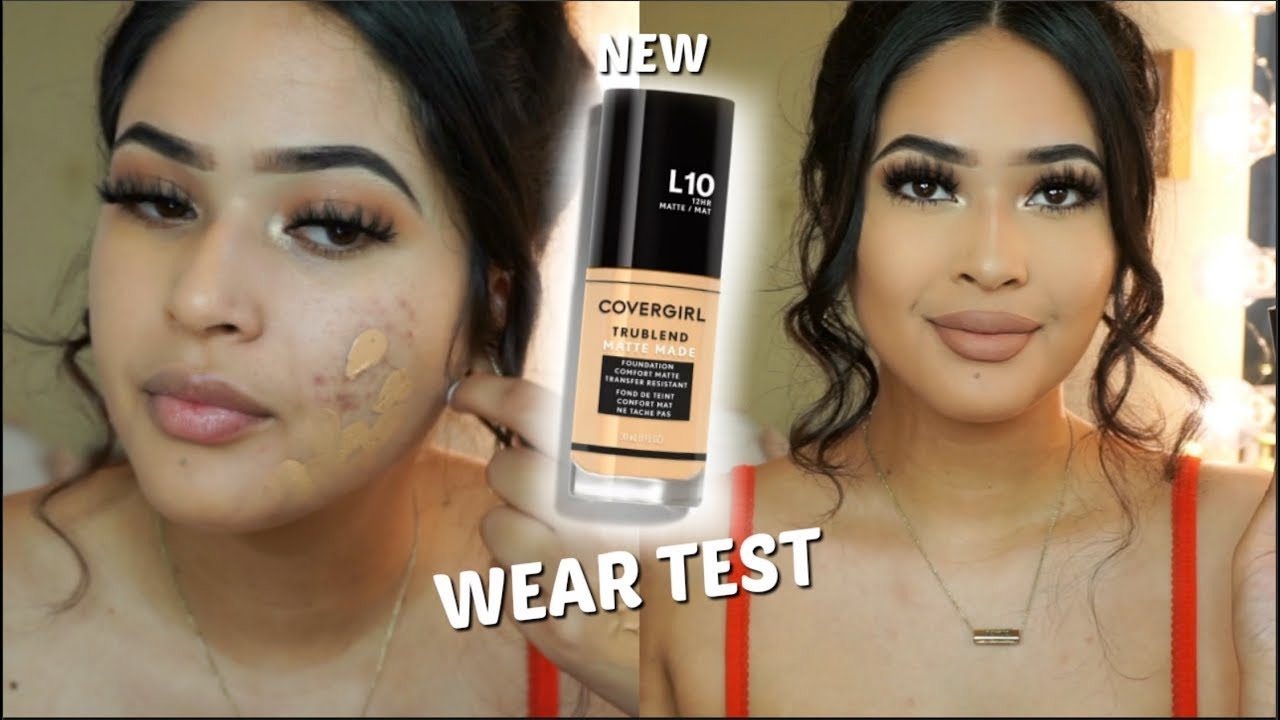 new covergirl foundation matte