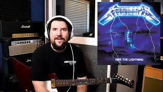 Metallica!  Ride The Lightning guitar gear SECRETS.