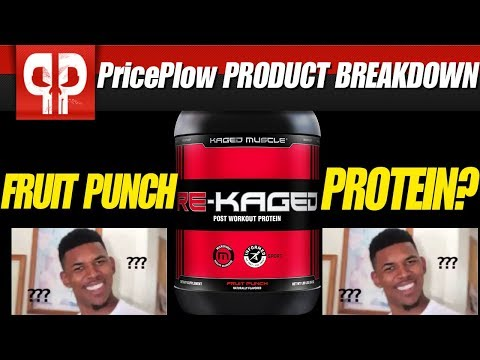 FRUIT PUNCH PROTEIN?   Kaged Muscle Re-Kaged Fruit Punch!