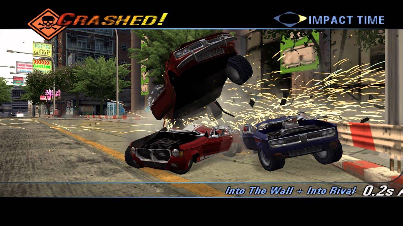 Save Game Burnout 3 Takedown Ps2 Review - dreamspoks