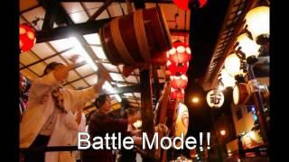 """battle of the japanese drums. """"Hikkase"""" case of kazo saitama"""