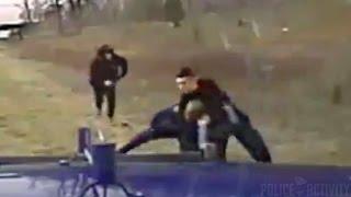 Dashcam Shows Good Samaritans Rescuing Trooper Under Attack