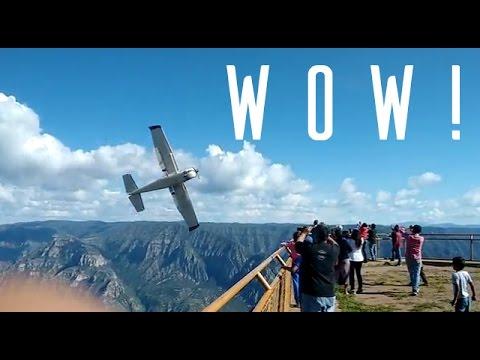 "Cessna 206 Aircraft Low Pass Mini Compilation (Barranca ""La Sinforosa"", Guachochi, Chihuahua)"