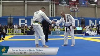 Keenan Cornelius vs Charles McGuire / Boston Summer Open 2017