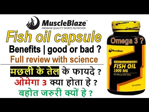 fish oil capsule omega 3 good or bad