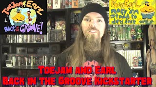 Toejam and Earl Back in the Groove Kickstarter