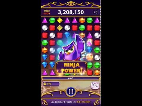 A random Bejeweled Blitz game