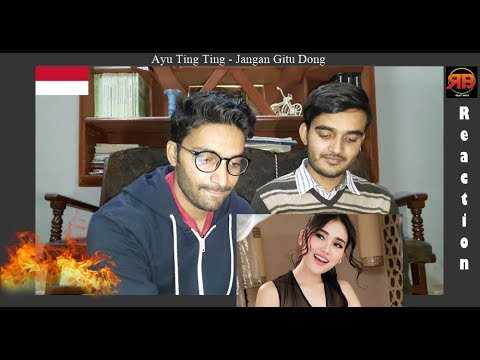 Foreigner Reacts To: Ayu Ting Ting - Jangan Gitu Dong (Official Music Video)