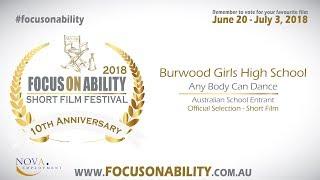 Burwood Girls High School - Any Body Can Dance