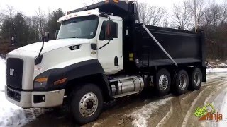 Cat CT660 Dump Truck In-Depth Walk-Around