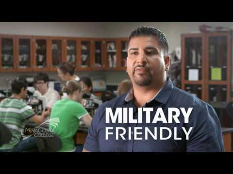 Why I Chose MiraCosta College - Military