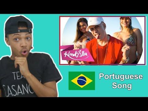 American React To Brazilian Song | MC Kevinho - Olha a Explosão (KondZilla)