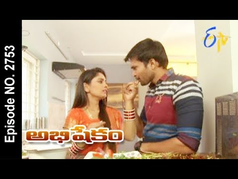 Abhishekam | 13th November 2017 | Full Episode No 2753 | ETV Telugu