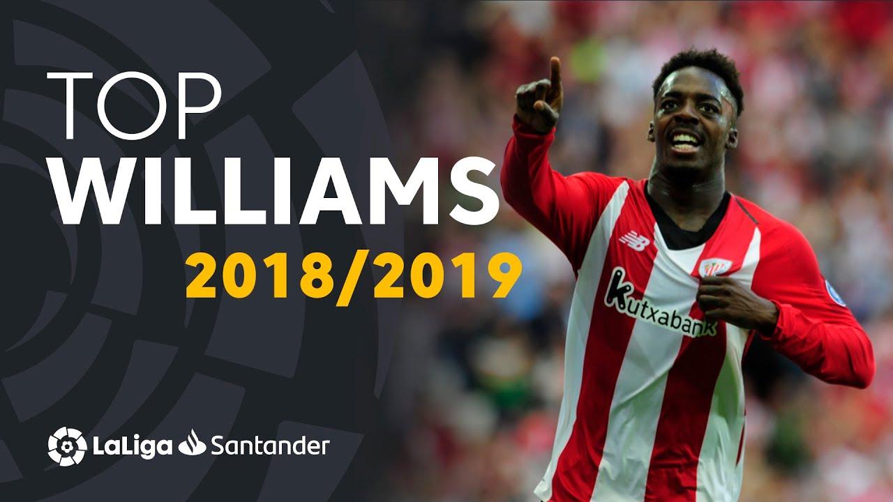 TOP Moments Iñaki Williams LaLiga Santander 2018/2019