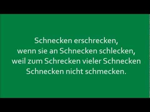 Tongue Auf Deutsch