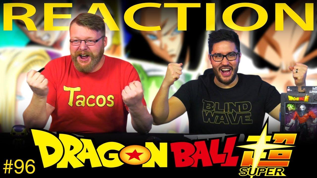 Dragon Ball Super [ENGLISH DUB] REACTION!! Episode 96