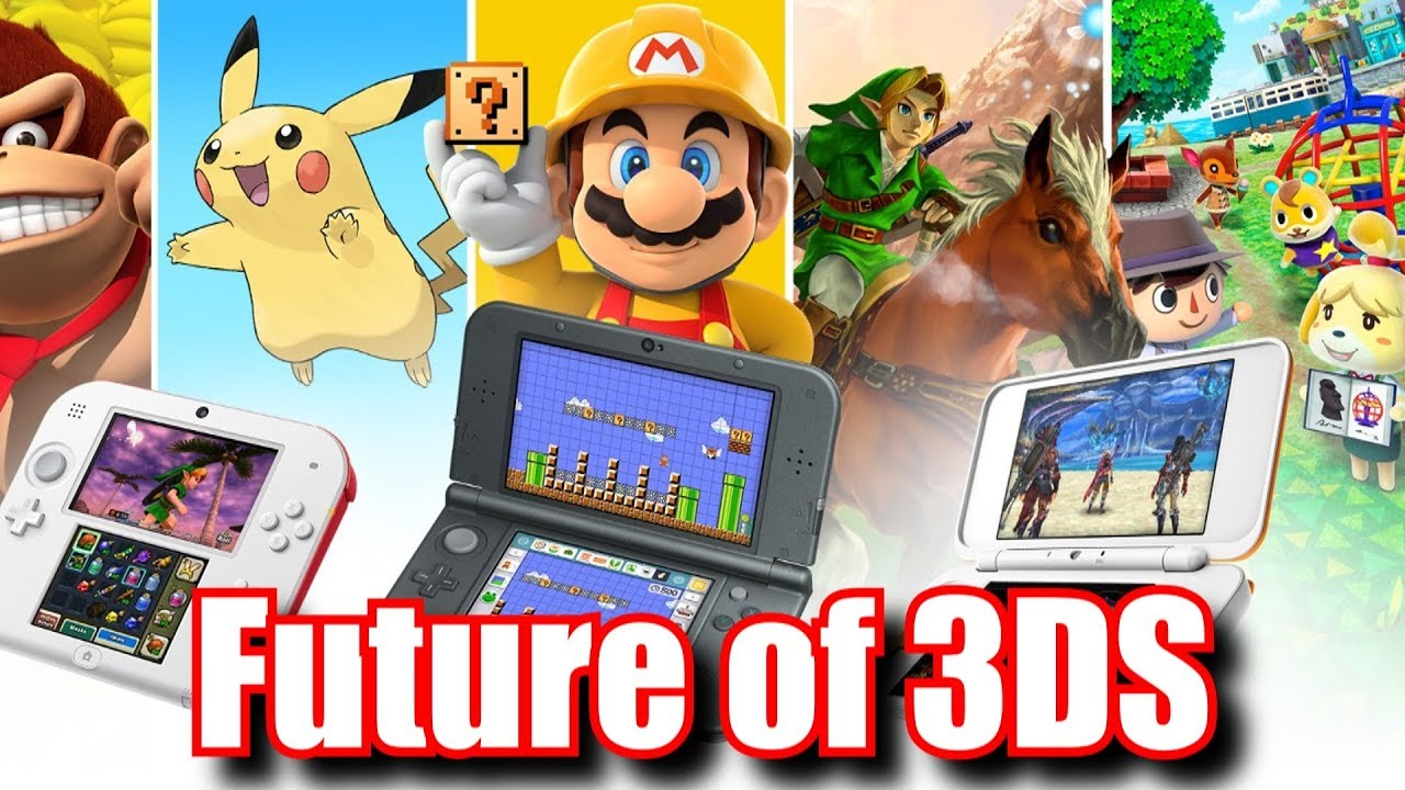 Nintendo Reveals Future Of 3ds In 2019 Beyond Youtube