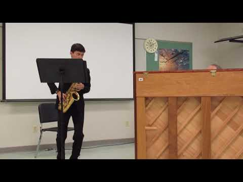 Fantasia for Alto Saxophone - Claude T  Smith - Feb 24, 2018