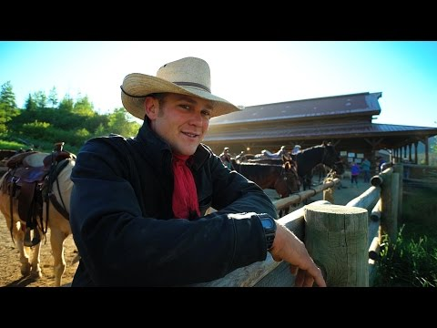 Dude Ranch Life:  A day with the Wranglers