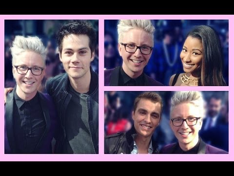 Interviewing Celebs at MTV Movie Awards... and I Was on TV?!