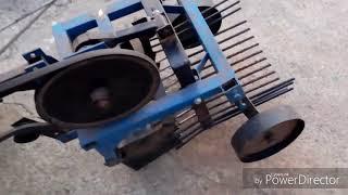 Картофелекопалка  грохотная приводная к тяжелому мотоблоку. Отзыв после сезона эксплуатации.