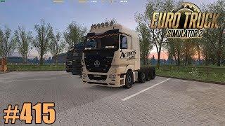 Euro Truck Simulator 2 415 MB Actros MPIII 41 1900 FullHD German Mods