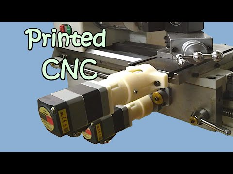 South Bend SB1001 CNC Lathe, 3D Printed Parts, Arduino Controlled