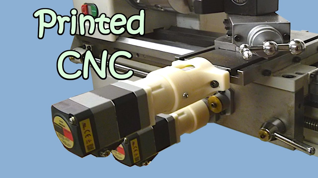 South Bend SB1001 CNC Lathe, 3D Printed Parts, Arduino Controlled #1