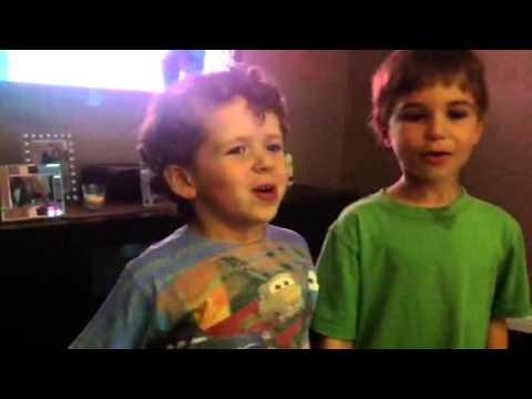Matthew and David Leonrdo Da Vinci Academy students Kindergarten class KB