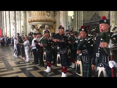 Amazing Grace, United Pipers for Peace, Amiens Cathedral