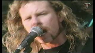 Metallica - RARE VIDEO - Creeping Death -  Milton Keynes UK 1993