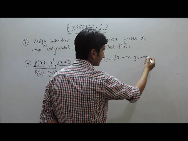 Exercise 2.2 - Question 3(v,vi) NCERT/CBSE Solution for Class 9th Maths Polynomials