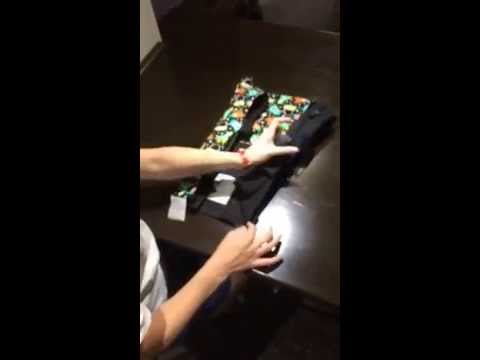 e228cf9b9bc Folding a Connecta Baby Carrier - YouTube