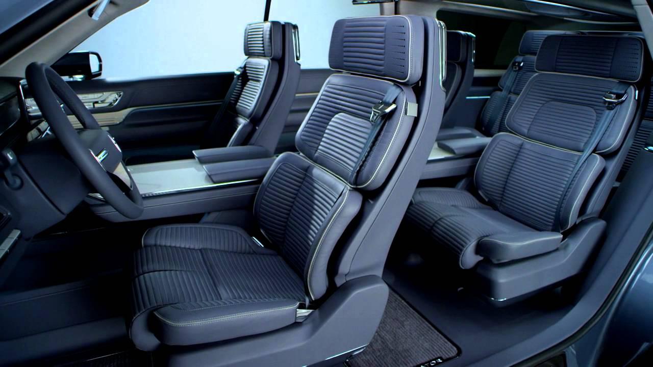 New Lincoln Navigator Concept Interior Youtube