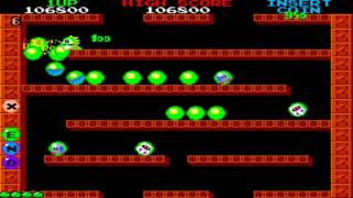 Bubble Bobble Round 1 to 15 1986 Taito Mame Retro Arcade Games