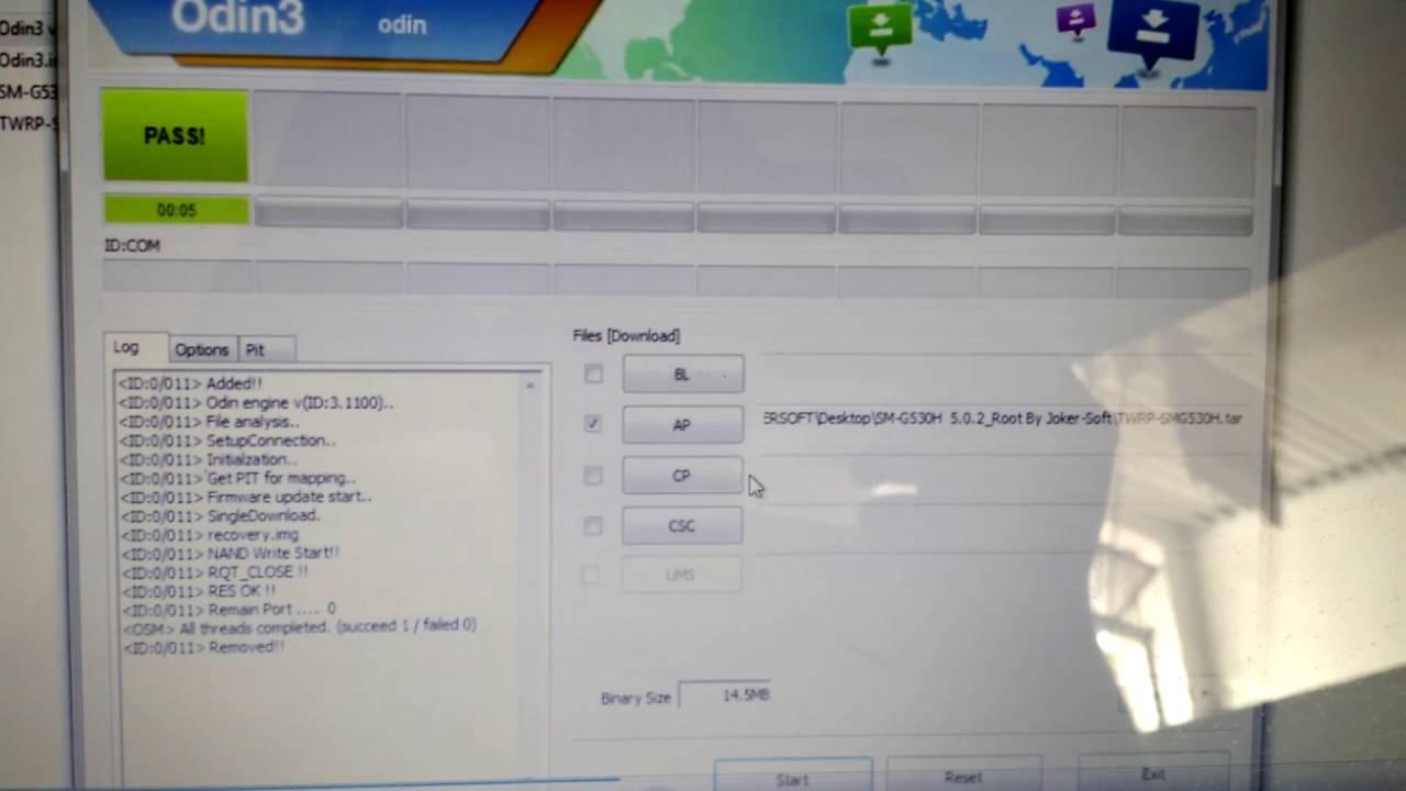Solução: Recovery TWRP não instala no Samsung Gran Prime G530H
