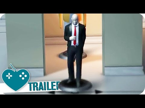 HITMAN GO: DEFINITIVE EDITION Trailer (2016) PS4, PC, PS VITA